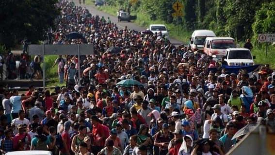 migrantes nueva caravana