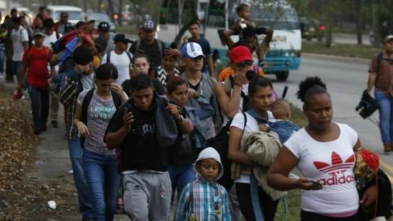 350migrantesirrumpieronconviolenciaenlafronterasur