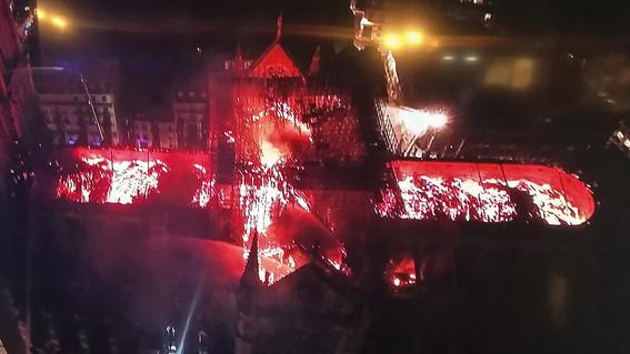 estructura catedral de notre dame incendio