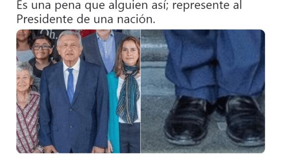 amlo y sus zapatos