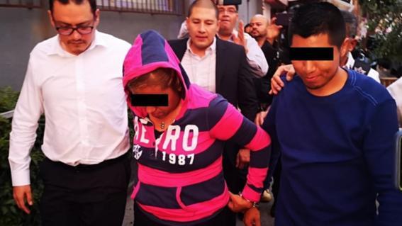 detenidos por bebe robada