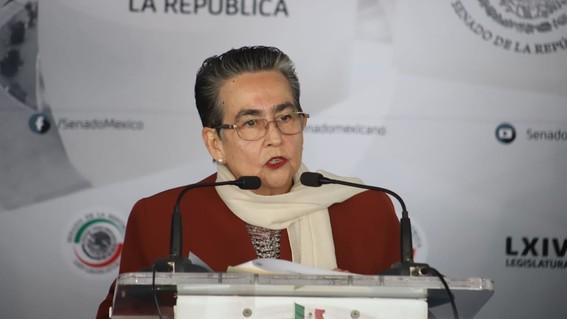 senadora de morena dice que exageran la masacre de minatitlan