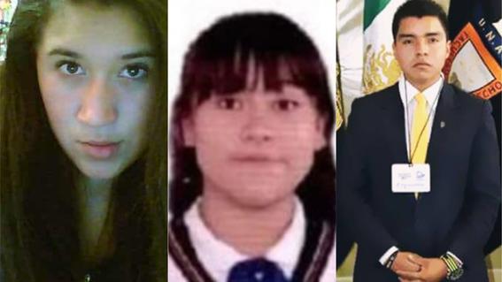 lesvy jennifer y luis roberto estudiantes muertos de la unam