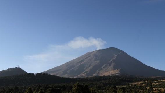 se registran 3 sismos en el popocatepetl