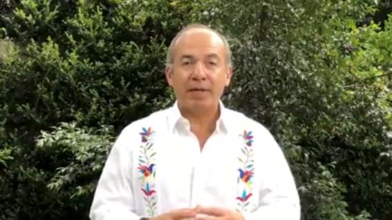 felipe calderon invita a registrarse a mexico libre