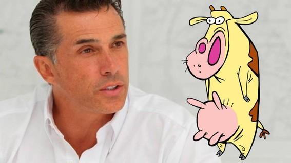 sergio mayer y la vaca amarilla