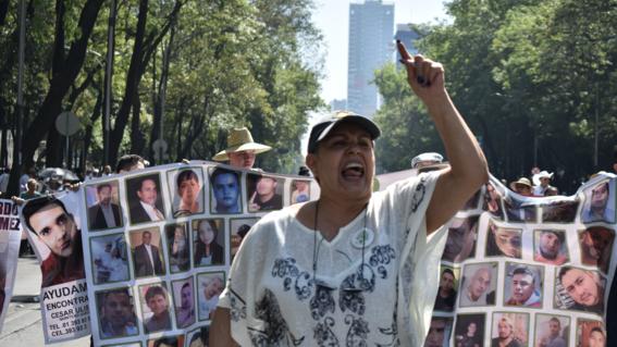 madres de desaparecidos el 10 de mayo