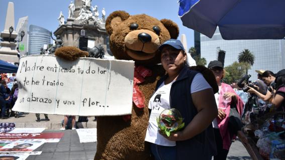 madres buscan a desaparecidos en mexico