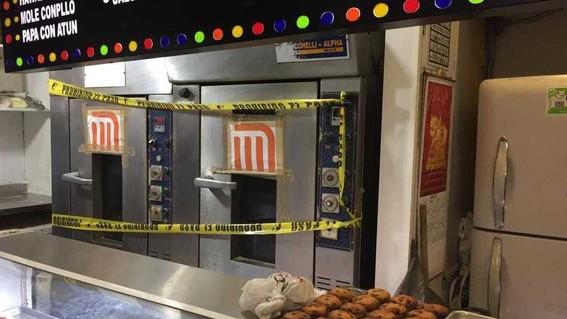 suspenden temporalmente locales de comida al interior del metro