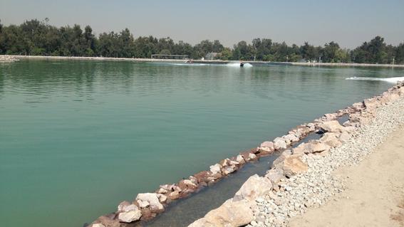 lago artificial de la cdmx