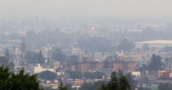 sigue mala calidad del aire en el valle de mexico
