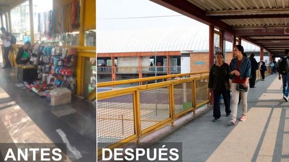 operativos contra ambulantes en el metro