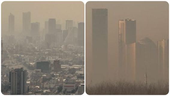 contaminacion en mexico vs contaminacion en china