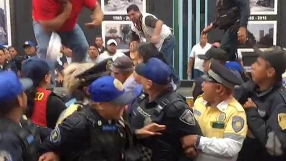 las autoridades de la cdmx trabajan en un protocolo de proteccion a policias para que no sean agredidos