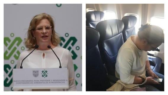 Renuncia Josefa González a Semarnat de AMLO tras retrasar vuelo comercial