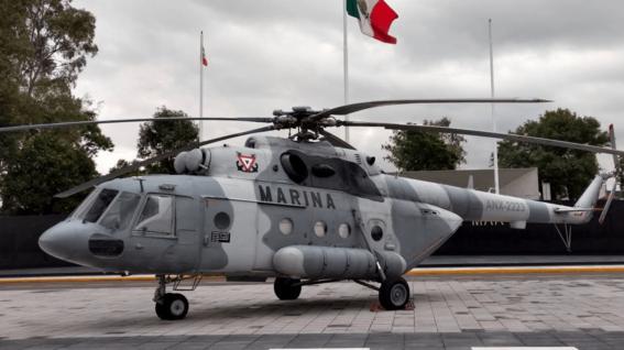 desplome de helicoptero de la marina en queretaro