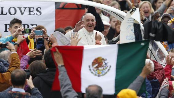 papa francisco dice que el diablo trae bronca con mexico