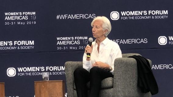 christine lagarde fmi womens forum americas mexico