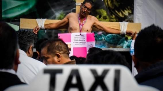paro nacional de taxistas 2019