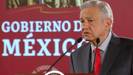 el presidente pidio a los mexicanos unirse y defender la soberania