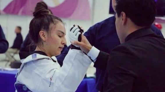 melanie martinez logro colocarse comosubcampeona detaekwondoen el nacional juvenil 2018