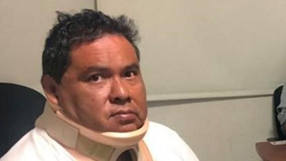 el comunicador marcos miranda fue secuestrado el miercoles poco antes de las 8 de la manana cuando se dirigia a dejar a uno de sus familiares a l