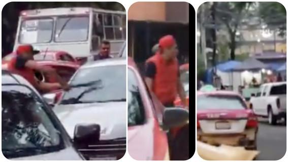 semovi cancela licencia y tarjeton a taxista violento