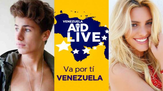 fondos venezuela aid live