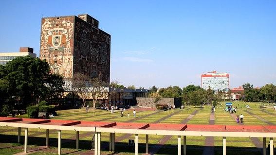 la unam esta ubicada como la segunda mejor universidad de america latina y la mejor de mexico