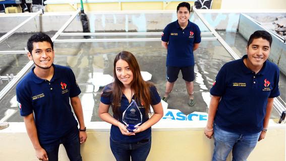 estudiantes de la unam obtienen triunfo historico de ingenieria civil en eua