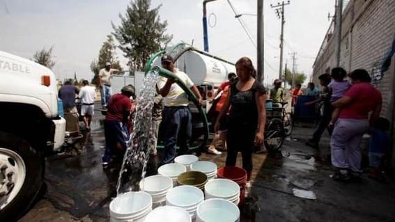 el sistema de aguas de la ciudad de mexico dio a conocer la lista de colonias que del 25 al 27 de junio se veran afectadas en el suministro de ag
