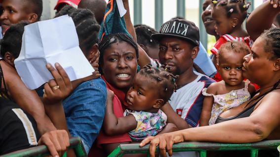 migrantes haitianos deportados de mexico