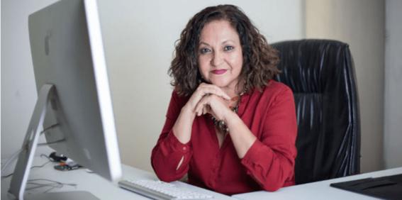 la directora de notimex sanjuana martinez compartio en sus redes informacion producto de una investigacion en la que revelaba un presunto compl