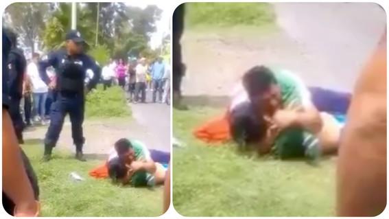 padre llora sobre cadaver de ladron en ecatepec