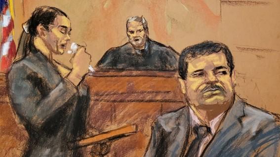 """una mujer llamada andrea velez habria sido una pieza clave en el juicio en contra de joaquin """"el chapo"""" guzman ya que al ser su colaboradora cer"""
