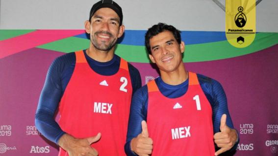 ¡mexico gana plata en voleibol de playa varonil en panamericanos