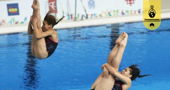 paola espinosa y dolores hernandez ganan medalla de bronce en panamericanos