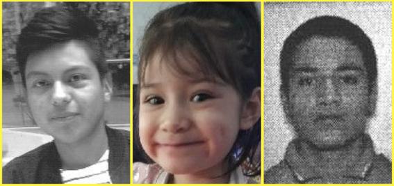 desaparecen tres menores de edad en la cdmx
