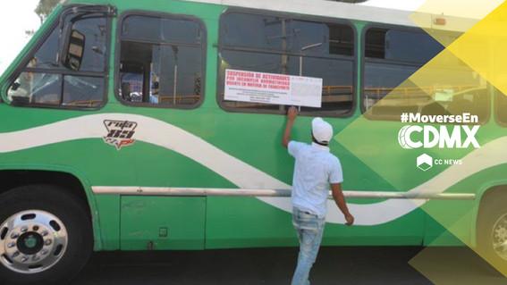 castigos a conductor de transporte publico infracciones