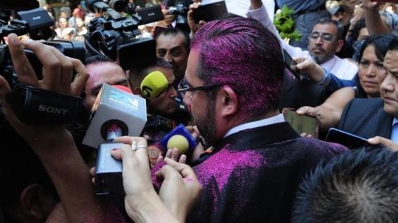 jesus orta no presentara ninguna denuncia por ataque con diamantina rosa