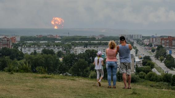rusia cancela orden de evacuacion tras explosion de un cohete