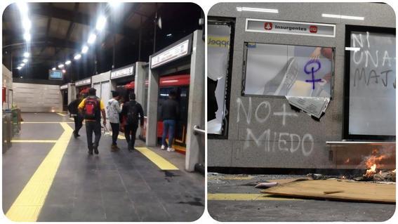 restablece servicio de metrobus en insurgentes