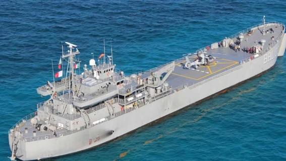 la secretaria de marina informo que el primer buque recolector de sargazo estara listo en octubre y en enero los tres siguientes