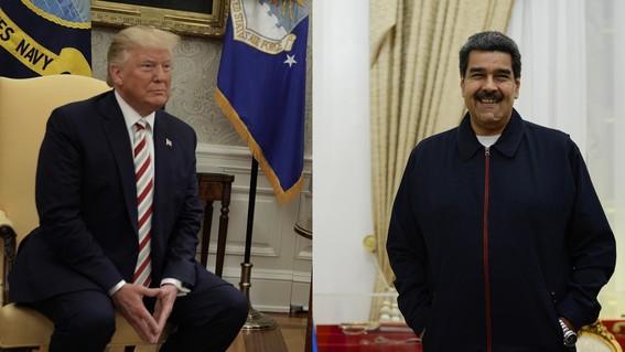los presidentes donald trump y nicolas maduro confirmaron que han mantenido reuniones secretas en las que buscan solucionar la profunda crisis qu