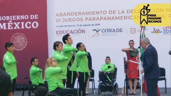 amlo anuncia que dara los mismos apoyos a atletas parapanamericanos