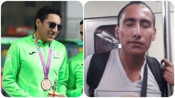 atleta mexicano invidente que canta en el metro gana bronce en parapanamericanos