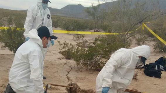 el gobierno federal informo que desde el 2006 se han identificado tres mil 24 fosas clandestinas en todo el territorio nacional