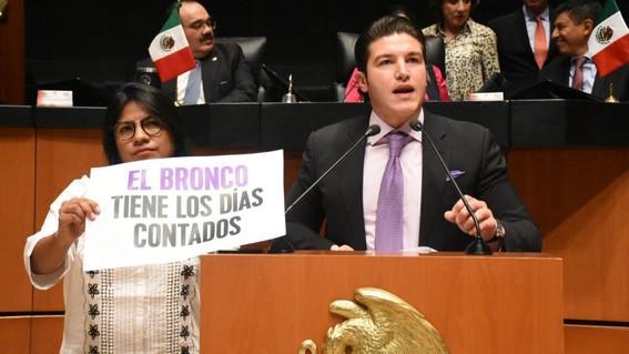 """el senador complemento la denuncia penal en la fepade en contra del gobernador jaime rodriguez calderon """"el bronco"""" por utilizar recursos estat"""