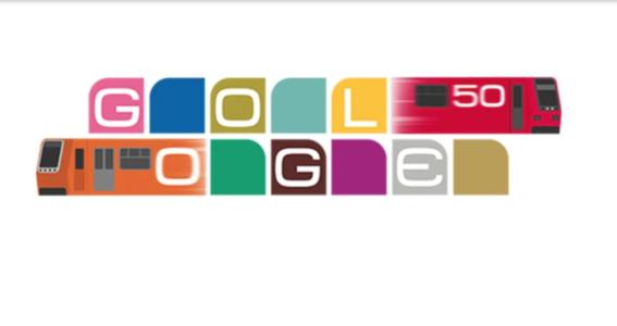 google celebra con un doodle el 50 aniversario del metro