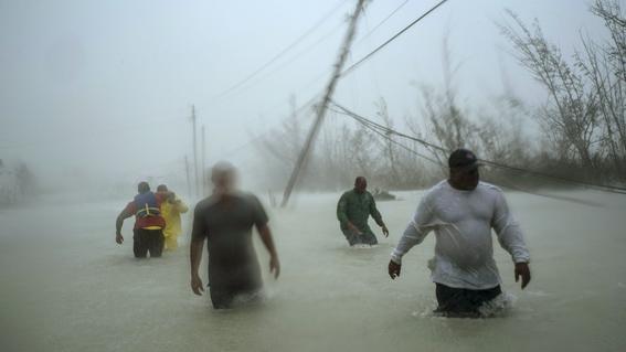 las imagenes difundidas por los medios de comunicacion dan cuenta de la gravedad de los danos que origino el paso del huracan dorian por bahamas